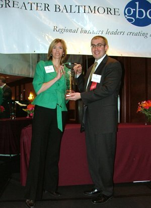 (left to right) Suzanne Sysko Clough, WellDoc Communications and Howard Schwartz, DLA Piper