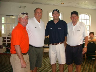 (l to r): Brian Monroe, Don Fry, Keith Barker, Lee Barker