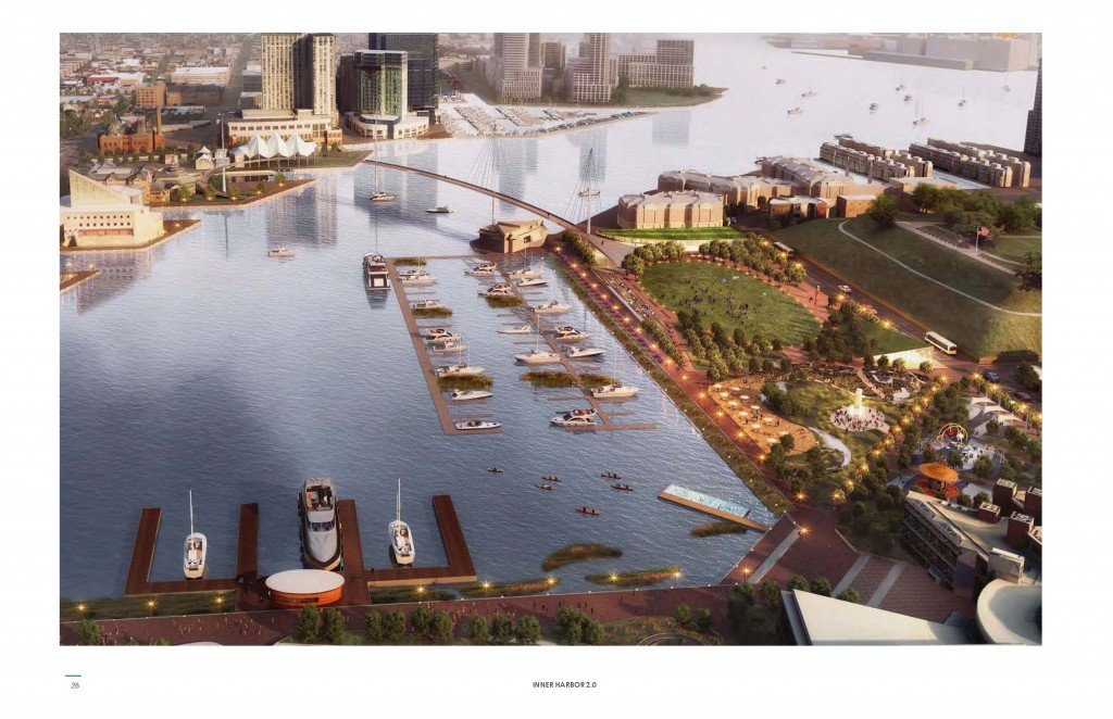 Inner Harbor 2.0 rendering by Ayers Saint Gross
