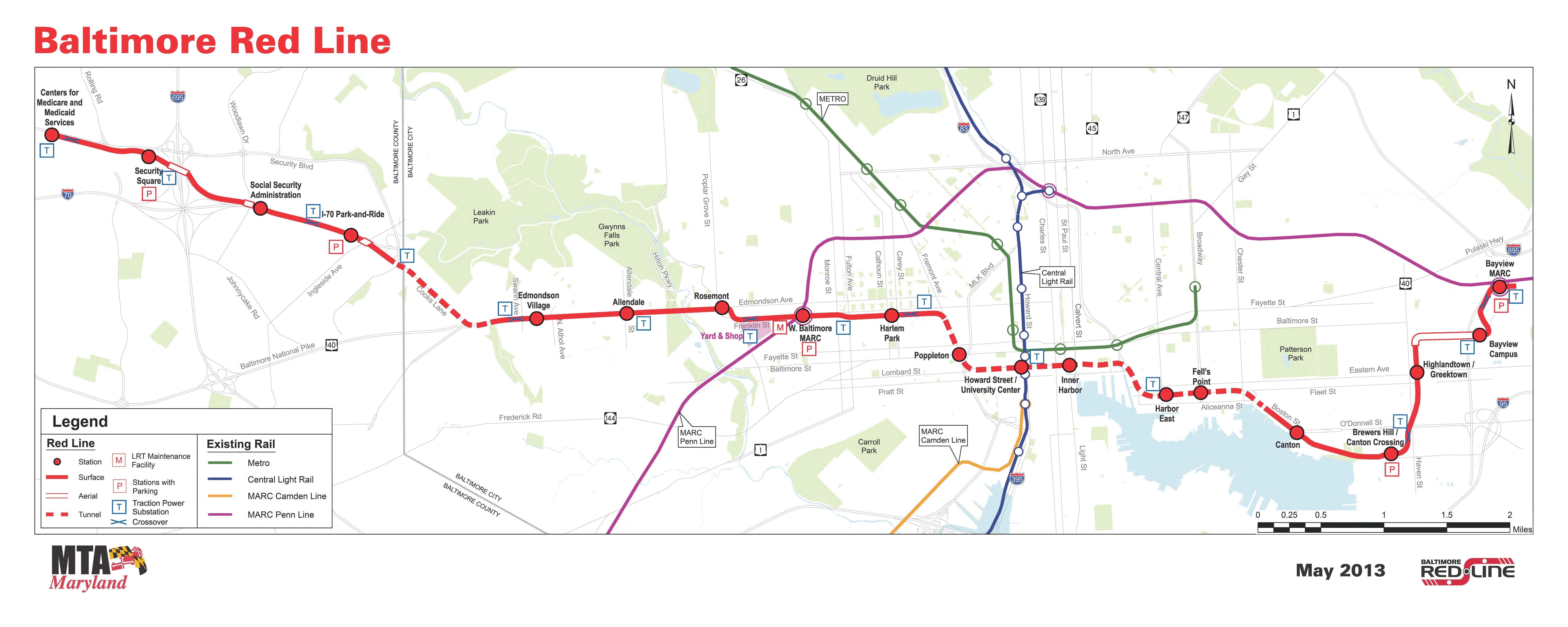 New Report Measures Economic Benefits Of Red And Purple Lines