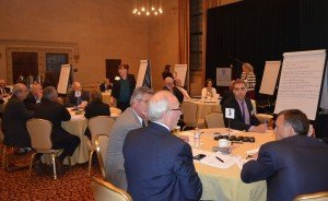 Tables - long shot - 2014 Chesapeake Conference CEOs