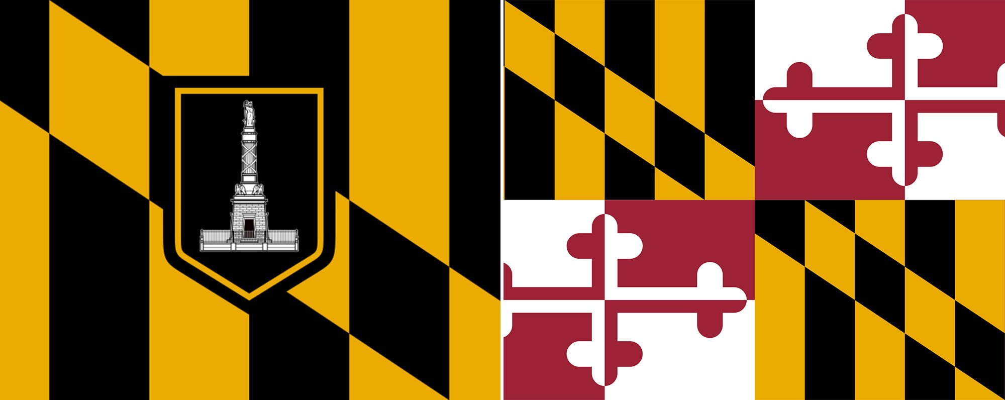 Balt MD Flags Header