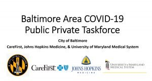 Baltimore Area COVID-19 Public-Private Taskforce
