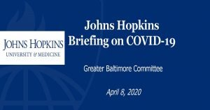 Hopkins COVID-19 briefing
