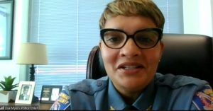 Howard County Police Chief Lisa Myers